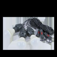 3 bulb light set
