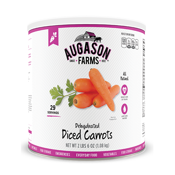 Diced Carrots #10