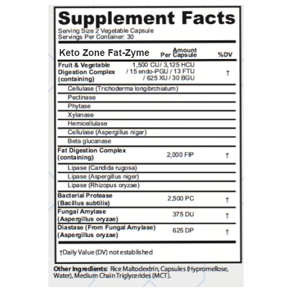 fat-zyme-supplement-facts