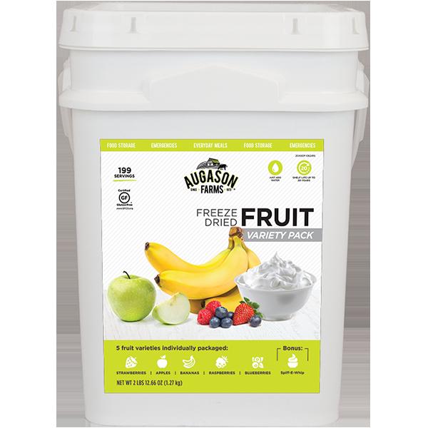Fruit Variety Bucket