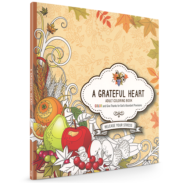 A Grateful Heart Adult Coloring Book