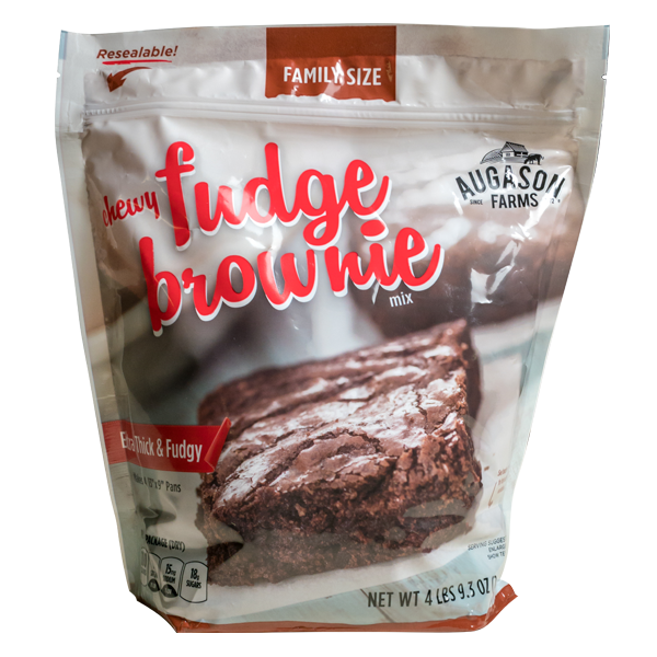 Chewy Fudge Brownie Mix Pouch 1