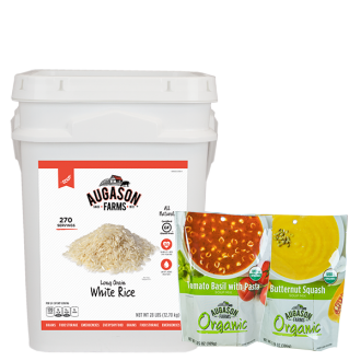 Long Grain White Rice 4G with Bonus soup