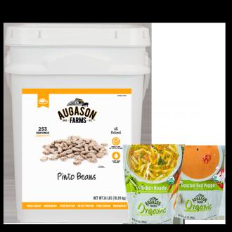 4G Pinto Beans with bonus Organic Pouches