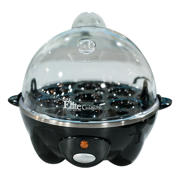 Black Egg Cooker 2