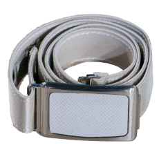 Ladies Adjustable Belt Cream 1