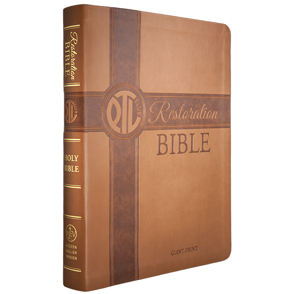 PTL Restoration MEV Bible Giant Print