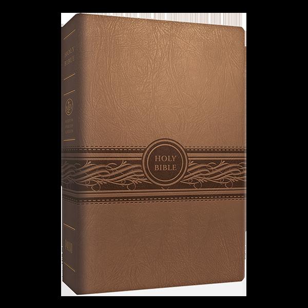 MEV Large Print Tan Bible
