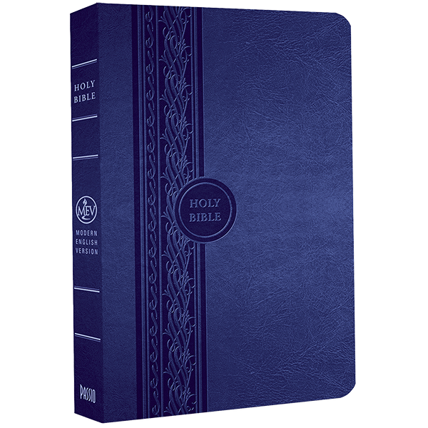 Thinline Study Bible Blue MEV