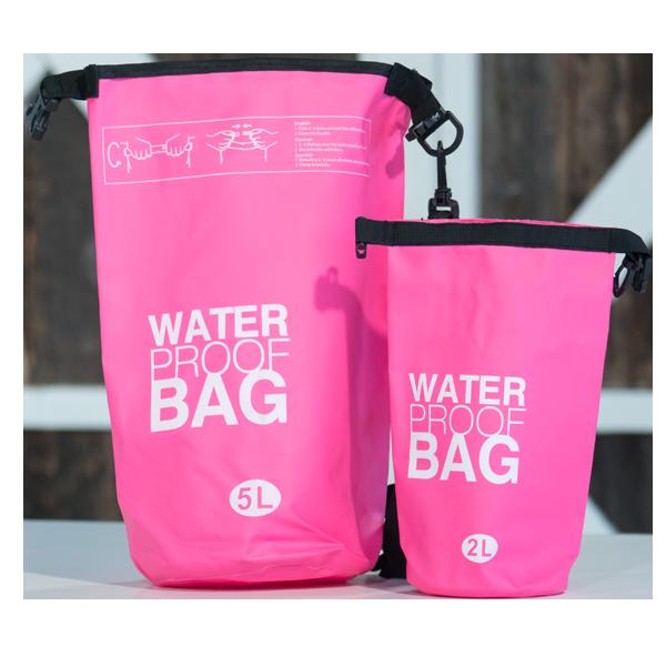 Water Proof Bag 5L & 2L Pink