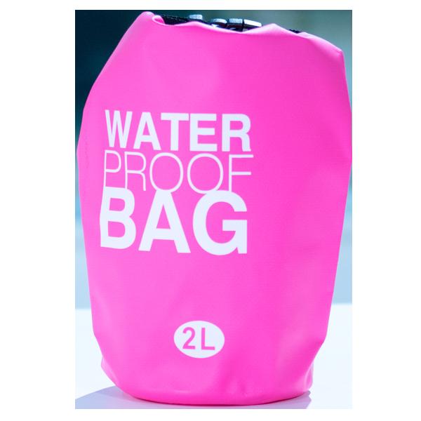 Water Prook Bag Pink 2L