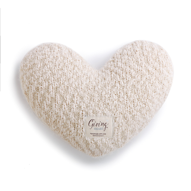 Giving Heart Pillow Front