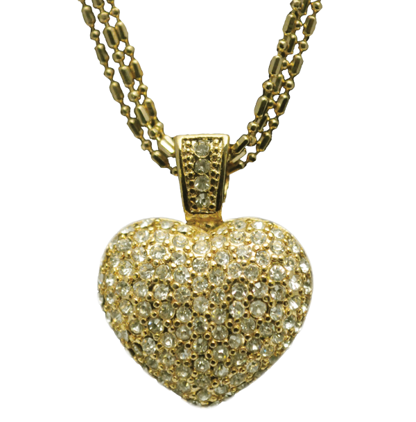 Pave Heart Gallery