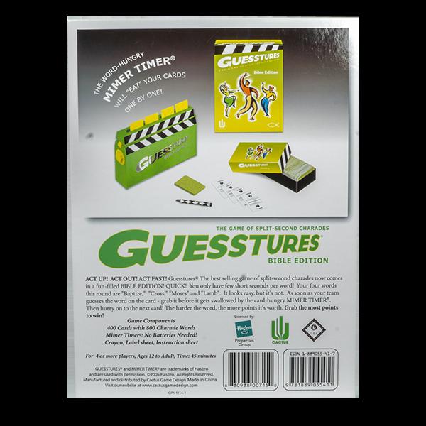Guesstures Back PTL