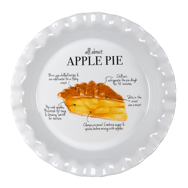 Apple Pie Plate PTL