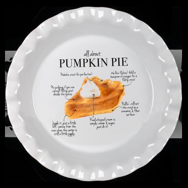 Pumpkin Pie Plate PTL