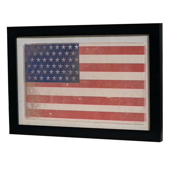 American-Flag-Framed-Art