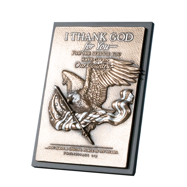 Eagle-Plaque