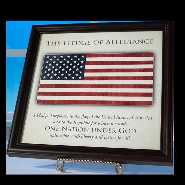 Pledge-Of-Allegiance-Framed-Art