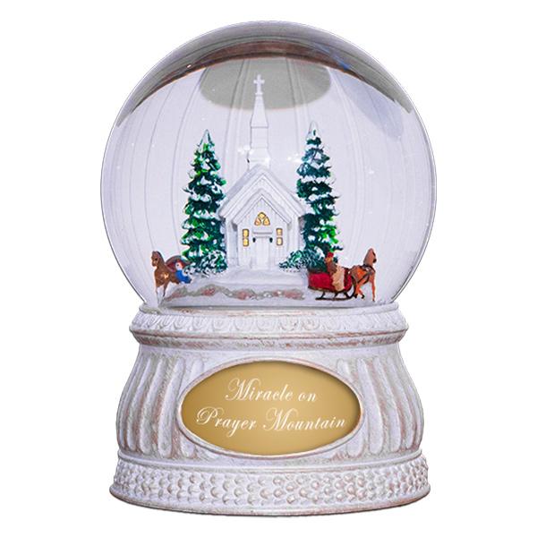 Prayer-Mountain-Snow-Globe