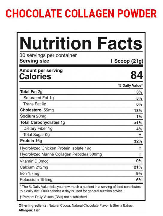Chocolate-Collagen-Nut-Label