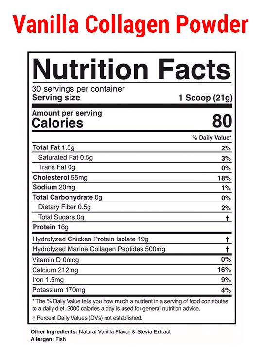 Vanilla-Collagen-Nut-Label