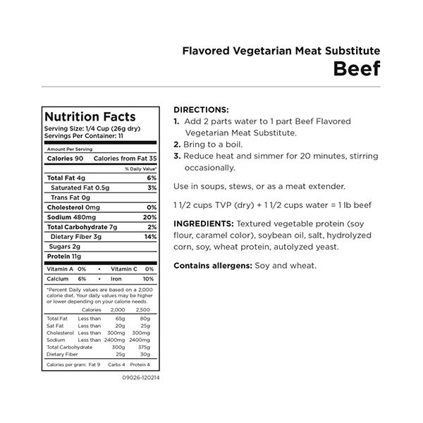 beef-flavored-vegetarian-meat-substitute