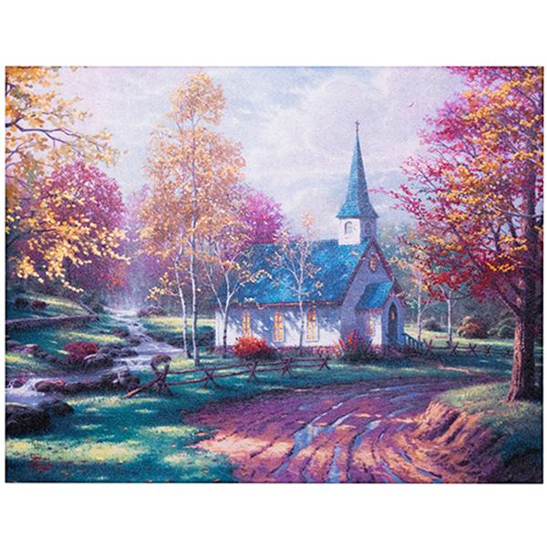 Prayer-Mountain-Chapel-Fall-Canvas